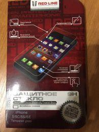 Защитное стекло Red Line для iPhone 5/5C/5S/SE