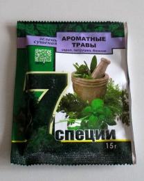 """Зелень сушёная """"Ароматные травы""""укроп, петрушка, базилик """"Эко7продукт"""""""