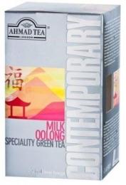 Зеленый чай Ahmad Tea Contemporary Milk oolong, в пакетиках