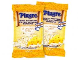 """Зерна кукурузы для приготовления попкорна """"Pirate"""" со вкусом сыра"""