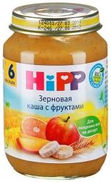 Зерновая каша с фруктами HiPP