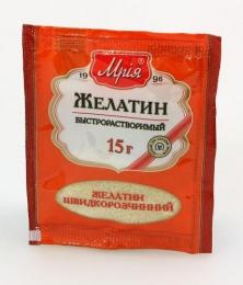 """Желатин быстрорастворимый пищевой """"Мрия"""""""