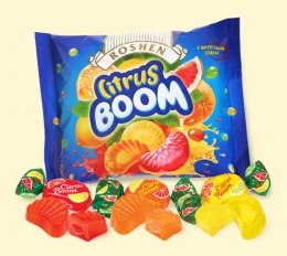 "Желейные конфеты Roshen ""Citrus boom"""