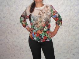 Женская блуза Mangosteen 4119-02 fancy