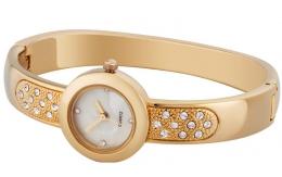 """Женские наручные часы со стразами Oriflame """"Стильное путешествие"""""""