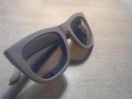 """Женские очки """"H&M"""" бежевые с зеркальными стеклами"""