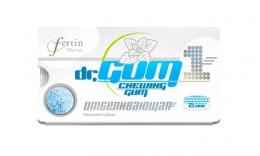 Жевательная резинка DrGUM Fertin Pharma отбеливающая с мятным вкусом