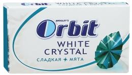 """Жевательная резинка Orbit White Crystal """"Сладкая мята"""""""