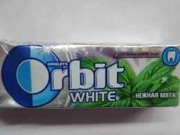 Жевательная резинка Orbit white «Нежная мята»