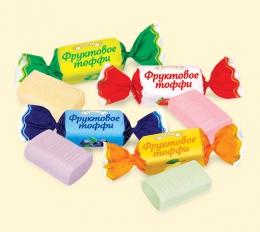 """Жевательные конфеты """"Фруктовое тоффи"""" Roshen"""