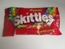 Жевательные конфеты Skittles фрукты