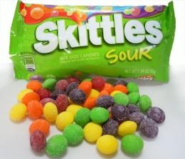 Жевательные конфеты Skittles Sour