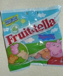 """Жевательный мармелад Fruit-tella """"Свинка Пеппа"""" со вкусами клубники, персика и ванили"""