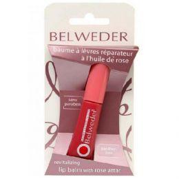 """Жидкий бальзам для губ Belweder """"Восстанавливающий"""" с розовым маслом"""