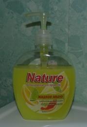 """Жидкое мыло Nature Вдохновение от природы """"Цитрусовая фантазия"""""""