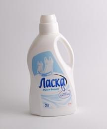 """Жидкость для стирки """"Ласка"""" Магия белого"""