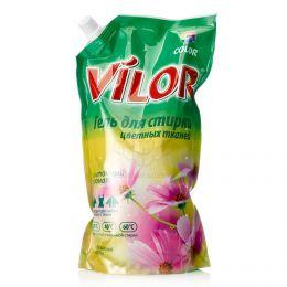 Гель для стирки цветных тканей Vilor Color Цветочный аромат