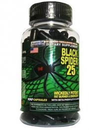 Жиросжигатель для похудения Cloma Pharma Black Spider 25