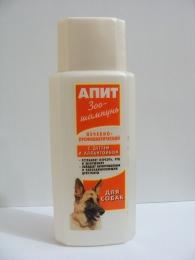 """Зоошампунь лечебно-профилактичестий с дегтем и аллантоином """"Апит"""" для собак"""