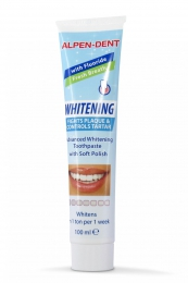 Зубная паста Alpen-Dent Whitening Fights Plaque and Controls Tartar От налета и зубного камня