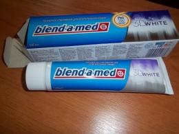 Зубная паста Blend-a-Med 3D White