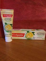 """Зубная паста Colgate Древние Секреты """"Безупречная Свежесть"""" с маслом лимона и алоэ"""