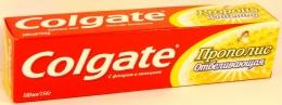 Зубная паста Colgate с прополисом отбеливающая