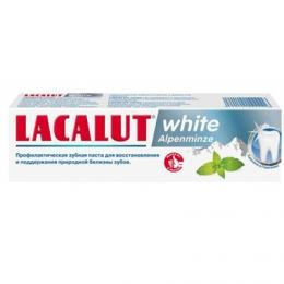 Зубная паста Lacalut white Alpenminze