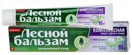 """Зубная паста Лесной бальзам """"Комплексная защита"""" с биогранулами"""