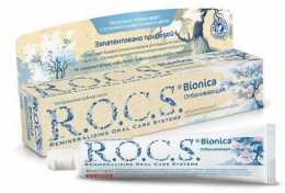 Зубная паста R.O.C.S. Bionica Отбеливающая