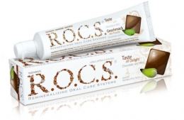 Зубная паста R.O.C.S. Taste of Delight со вкусом шоколада и мяты