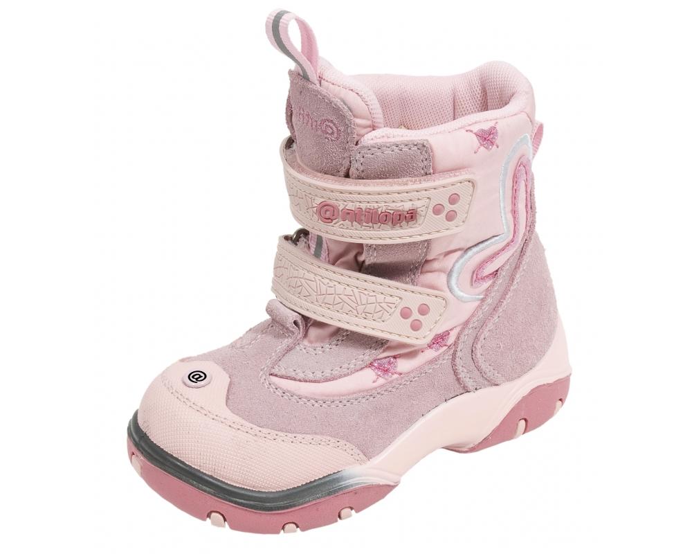 0365812cc Детские мембранные зимние ботинки Антилопа арт. 23162-2514 отзывы
