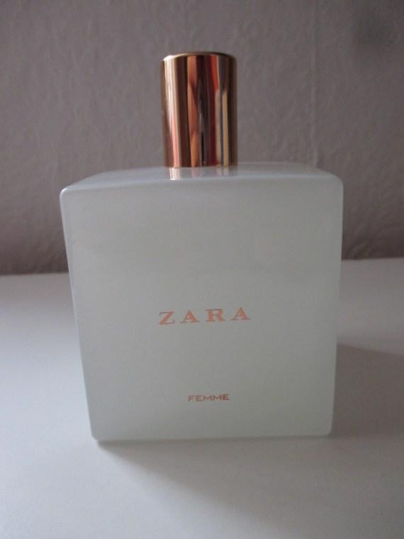 туалетная вода Zara Femme отзывы