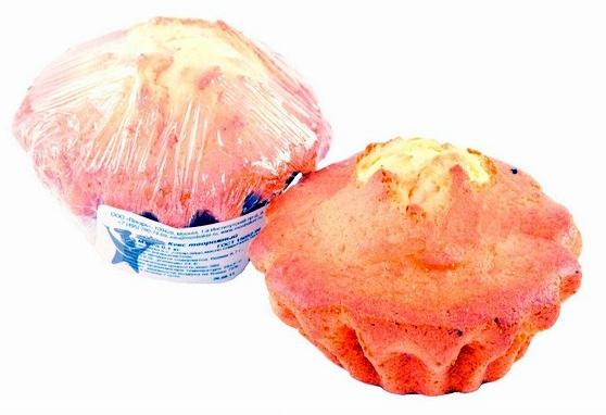 Кекс творожный московский пекарь