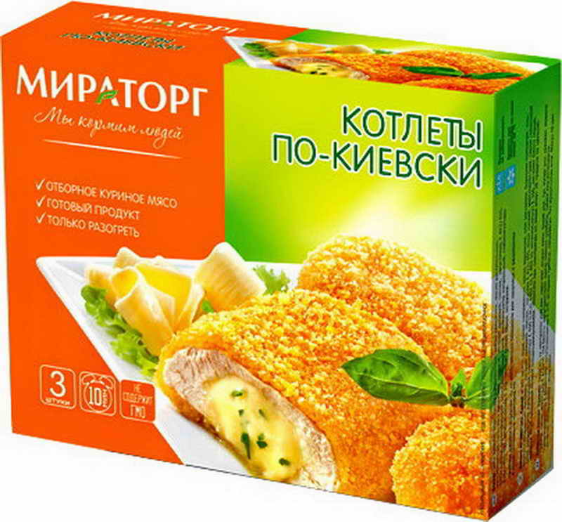 Котлета по киевски состав