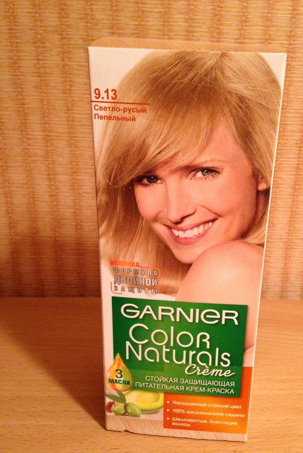 Краска для волос Garnier Color Naturals 9.13 Светло-русый пепельный отзывы 542c3019c6560