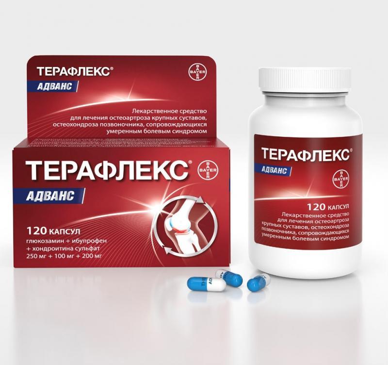 средство для лечения суставов терафлекс