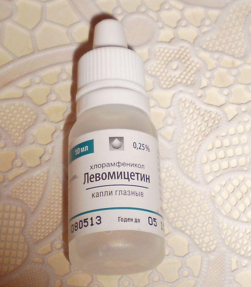 Довольно часто встречается случай, когда левомицетиновые капли назначают при сильном насморке.