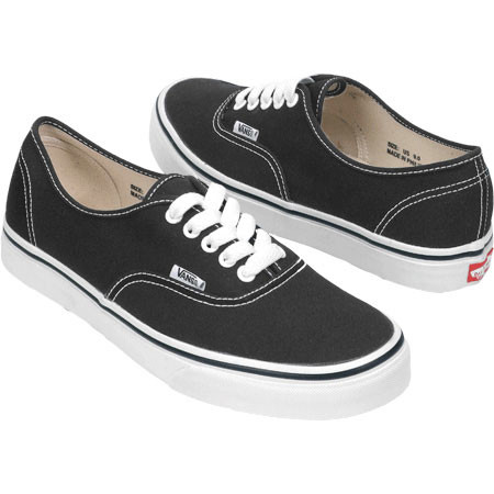 9f38efa62e80 Мужские кеды Vans Authentic Black отзывы