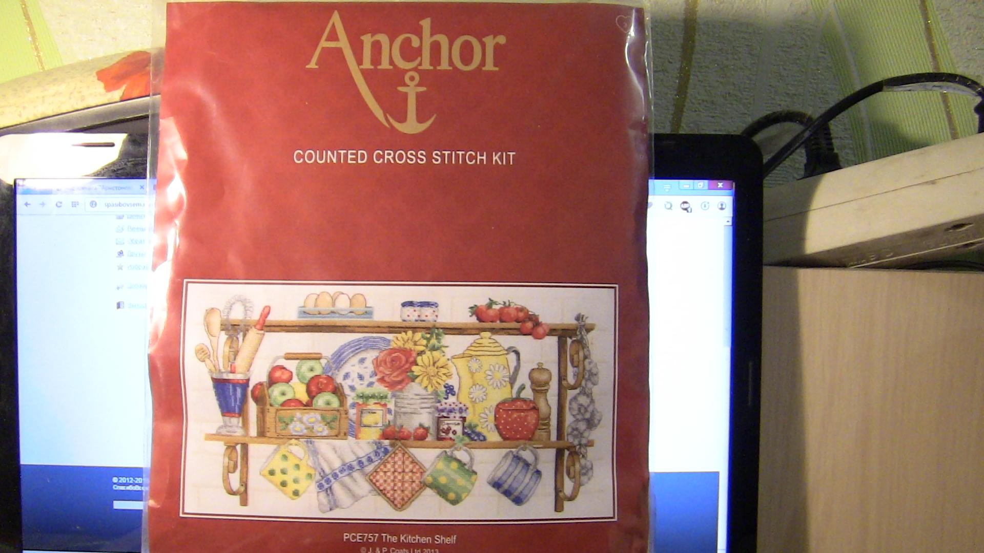 Вышивки анкор каталог