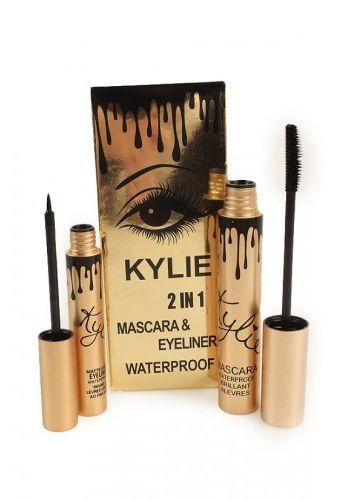 2495405100c Набор Kylie Cosmetics 2 in1 magic thick slim waterproof mascara cool black waterproof  eyeliner отзывы