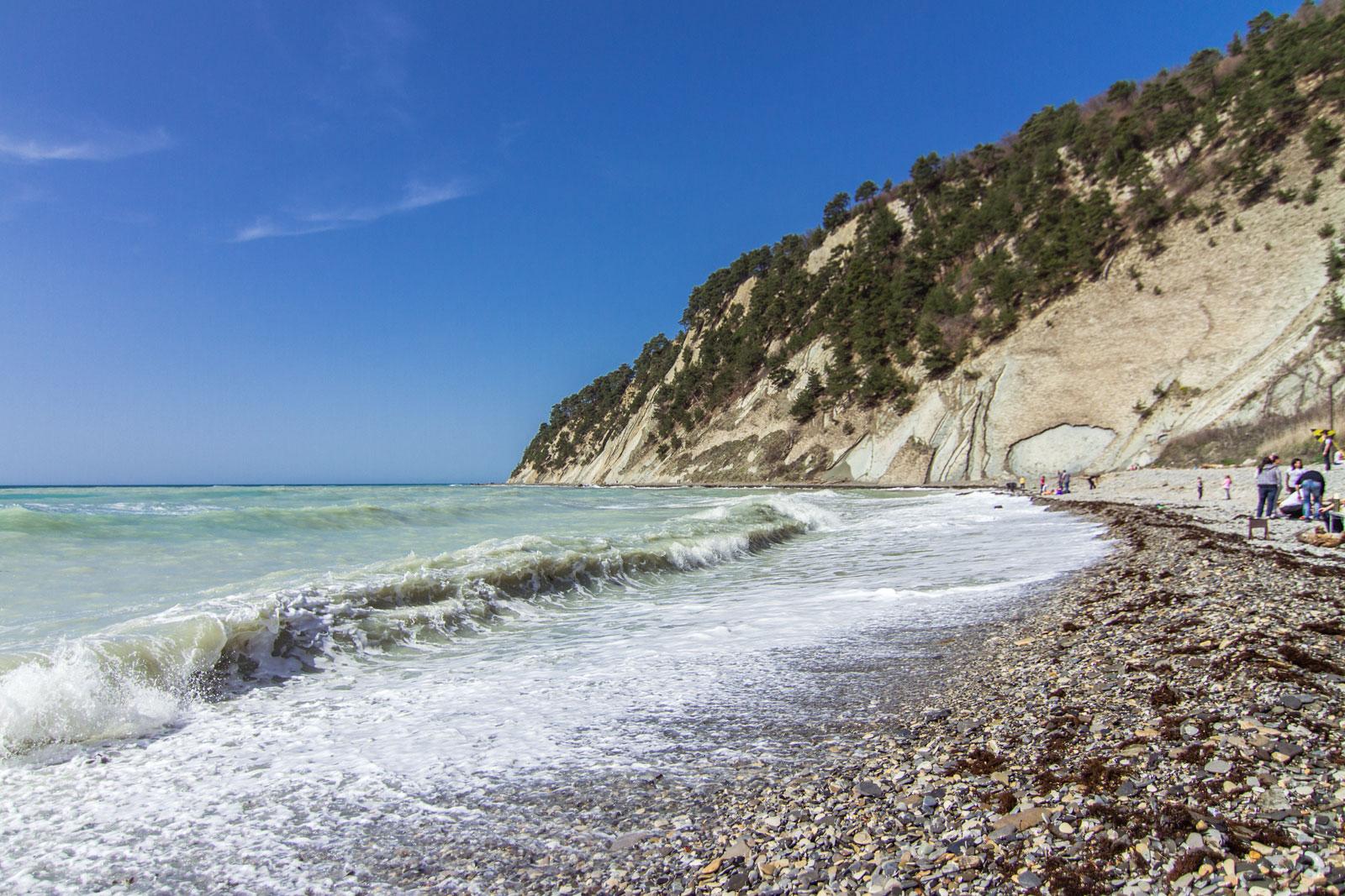 Архипо-осиповка краснодарский край фото пляжа