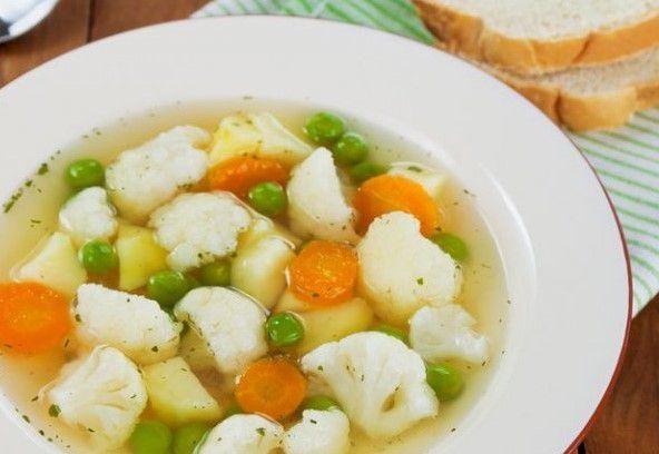 Суп из цветной капусты диета номер 5
