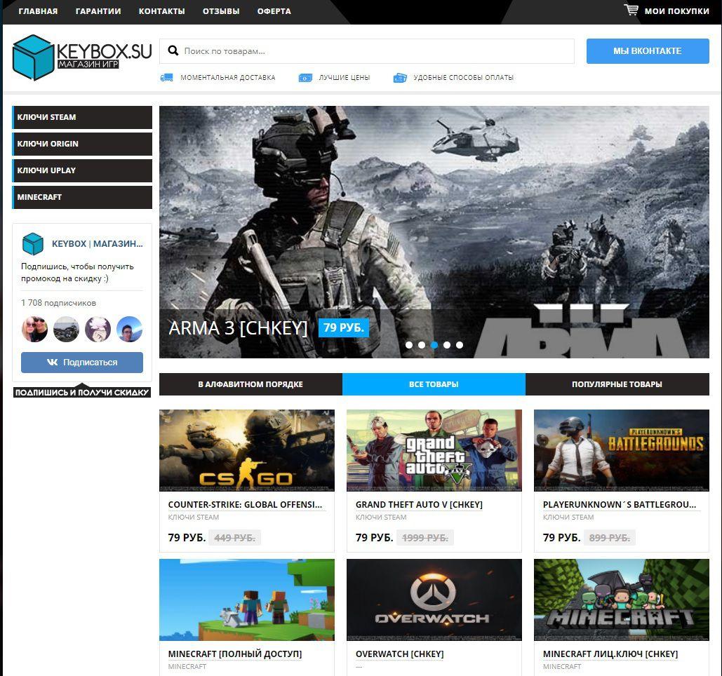 игровые сайты pc