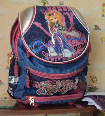 30ac1f7dd7d2 Школьный рюкзак Mike&Mar Rock Girl отзывы