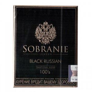 сигареты sobranie black russian купить