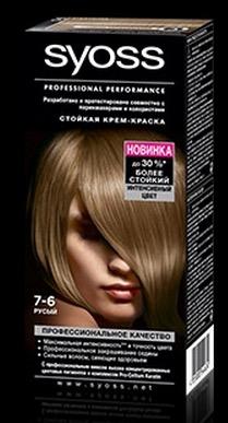 Syoss краска для волос русый фото