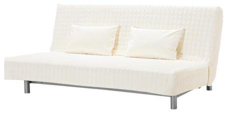 отзыв про трехместный диван кровать Ikea бединге стильный и