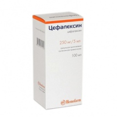 антибиотик цефалексин суспензия
