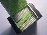 """Ежедневные прокладки Kotex Lux SuperSlimDeo - зеленый """"кошелечек"""" для нескольких прокладок"""